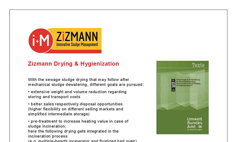 drying hygienization